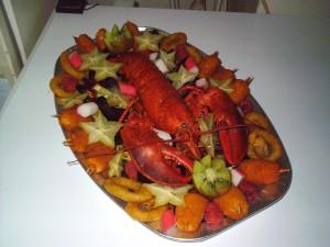 Platou fructe de mare